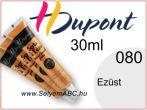 H.DUPONT Selyemkontúr | 30ml | 080 | Ezüst