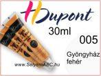 H.DUPONT Selyemkontúr   30ml   085   Gyöngyház fehér