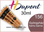 H.DUPONT Selyemkontúr   30ml   156   Gyöngyházfényű hamu barna
