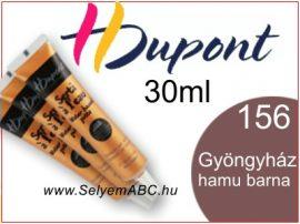 H.DUPONT Selyemkontúr | 30ml | 156 | Gyöngyházfényű hamu barna