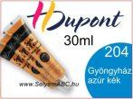 H.DUPONT Selyemkontúr | 30ml | 204 | Gyöngyházfényű azure kék