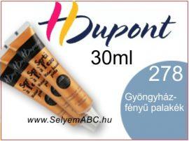 H.DUPONT Selyemkontúr | 30ml | 278 | Gyöngyházfényű pala kék
