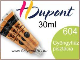 H.DUPONT Selyemkontúr   30ml   604   Gyöngyházfényű pisztácia
