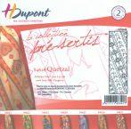 Selyemsál    45x140cm   Előkontúrozott fekete   QUETZAL  P5   H.Dupont 4628
