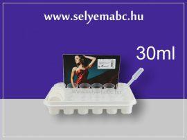 Festéktálca - festéktároló | kupakos | 30ml | 24db-os + 3ml-es csepegtető