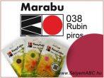 Marabu Por Selyemfesték | EasyColor - Batik | Rubinpiros | 038