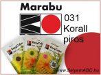 Marabu Por Selyemfesték | EasyColor - Batik | Korallpiros | 031