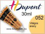 H.DUPONT Selyemkontúr | 30ml | 052 |Világos Arany