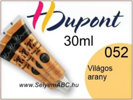 H.DUPONT Selyemkontúr | 30ml | 380 |Világos Arany