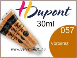 H.DUPONT Selyemkontúr | 30ml | 057 | Vörösréz