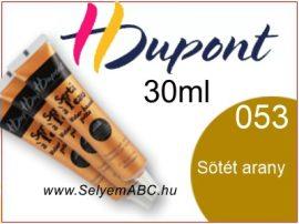H.DUPONT Selyemkontúr | 30ml | 053| Sötét Arany