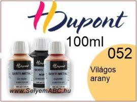 H.DUPONT Selyemkontúr | 100ml | 052|Világos Arany