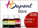 H.DUPONT Gőzfixálós Selyemfesték | 50ml | 406 -Rouge a Levres |
