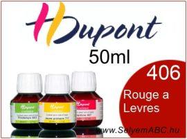 H.DUPONT Gőzfixálós Selyemfesték   50ml   406 -Rouge a Levres  