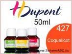 H.DUPONT Gőzfixálós Selyemfesték | 50ml | 427 - Coquelicot