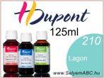 H.DUPONT Gőzfixálós Selyemfesték | 125ml | 210 - Lagon