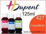H.DUPONT Gőzfixálós Selyemfesték | 125ml | 427 -Coquelicot|