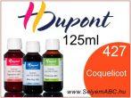H.DUPONT Gőzfixálós Selyemfesték   125ml   427 -Coquelicot 