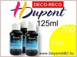 H.DUPONT Gőzfixálós Selyemfesték | 125ml |700 - Yellow  DECO RECO | Sárga