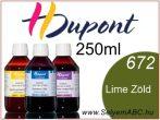 H.DUPONT Gőzfixálós Selyemfesték | 250ml | 672 - Tilleul |