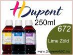 H.DUPONT Gőzfixálós Selyemfesték | 250ml | 672 - Tilleul | Lime Zöld