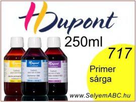 H.DUPONT Gőzfixálós Selyemfesték   250ml   717 - Jaune Primaire   Primer sárga
