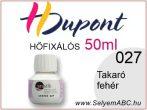 H.DUPONT Hőfixálós Selyemfesték | 50ml | 027 - Mixing| Takaró fehér