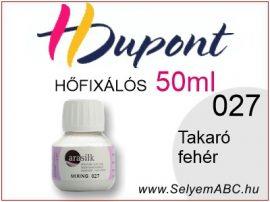 H.DUPONT Hőfixálós Selyemfesték   50ml   005 - Mixing  Keverő fehér