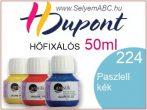 H.DUPONT Hőfixálós Selyemfesték | 50ml | 224 - Blue Pastel | Pasztell kék