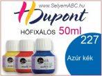 H.DUPONT Hőfixálós Selyemfesték | 50ml | 227 - Azure | Égszín kék