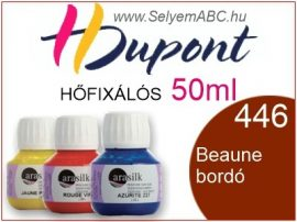 H.DUPONT Hőfixálós Selyemfesték | 50ml | 446 - Beaune | Beaune bordó