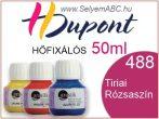 H.DUPONT Hőfixálós Selyemfesték | 50ml | 488 - Tyrien | Tiriai rózsaszín