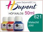 H.DUPONT Hőfixálós Selyemfesték | 50ml | 621 - Malachite | Malachit zöld