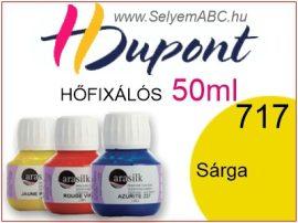 H.DUPONT Hőfixálós Selyemfesték | 50ml | 717 - Yellow | Sárga
