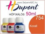 H.DUPONT Hőfixálós Selyemfesték | 50ml | 754 - Coral | Korall