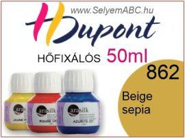 H.DUPONT Hőfixálós Selyemfesték | 50ml | 862 - Beige Sepia