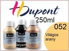 H.DUPONT Selyemkontúr | 250ml | 052 | Világos arany
